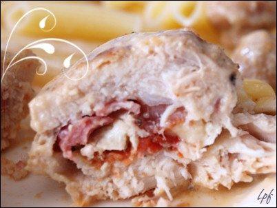 poulet-camembert