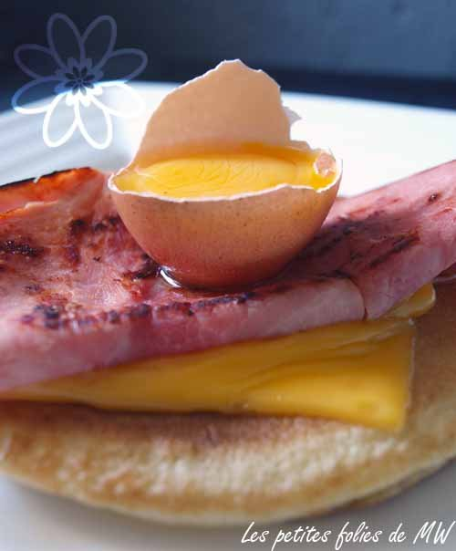 blinis jambon fromage