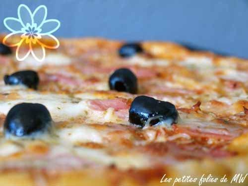 pizza à la pâte feuilletée