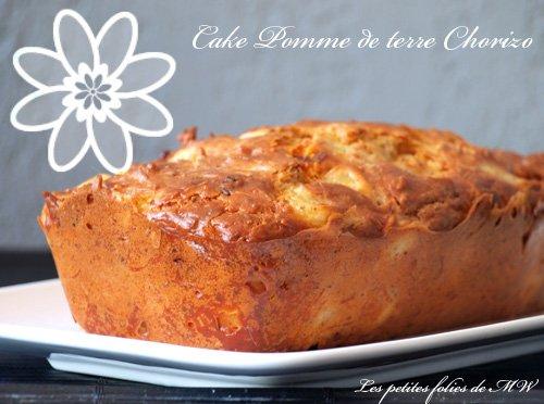 Cake pommes de terre chorizo