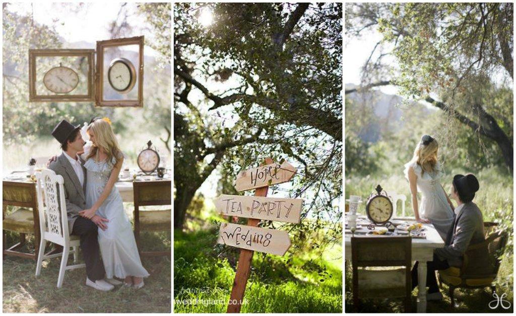 lieu mariage thème Alice au pays des merveilles