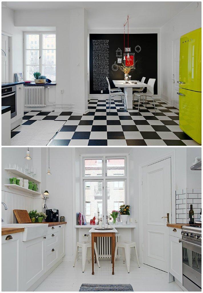 Inspiration nordique dans la cuisine... [déco]