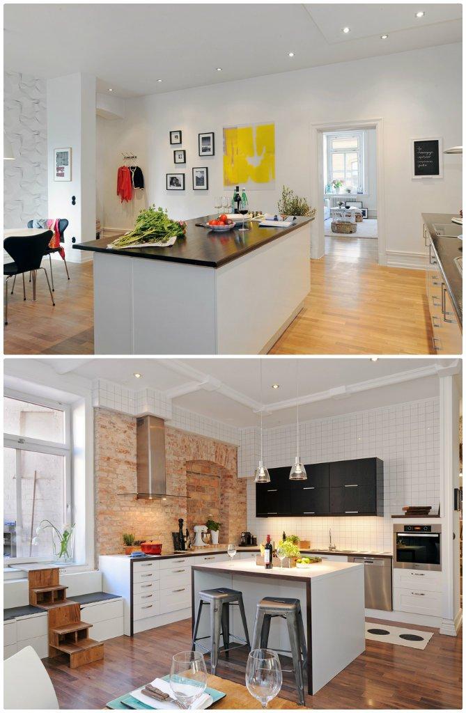 inspiration nordique dans la cuisine d co. Black Bedroom Furniture Sets. Home Design Ideas