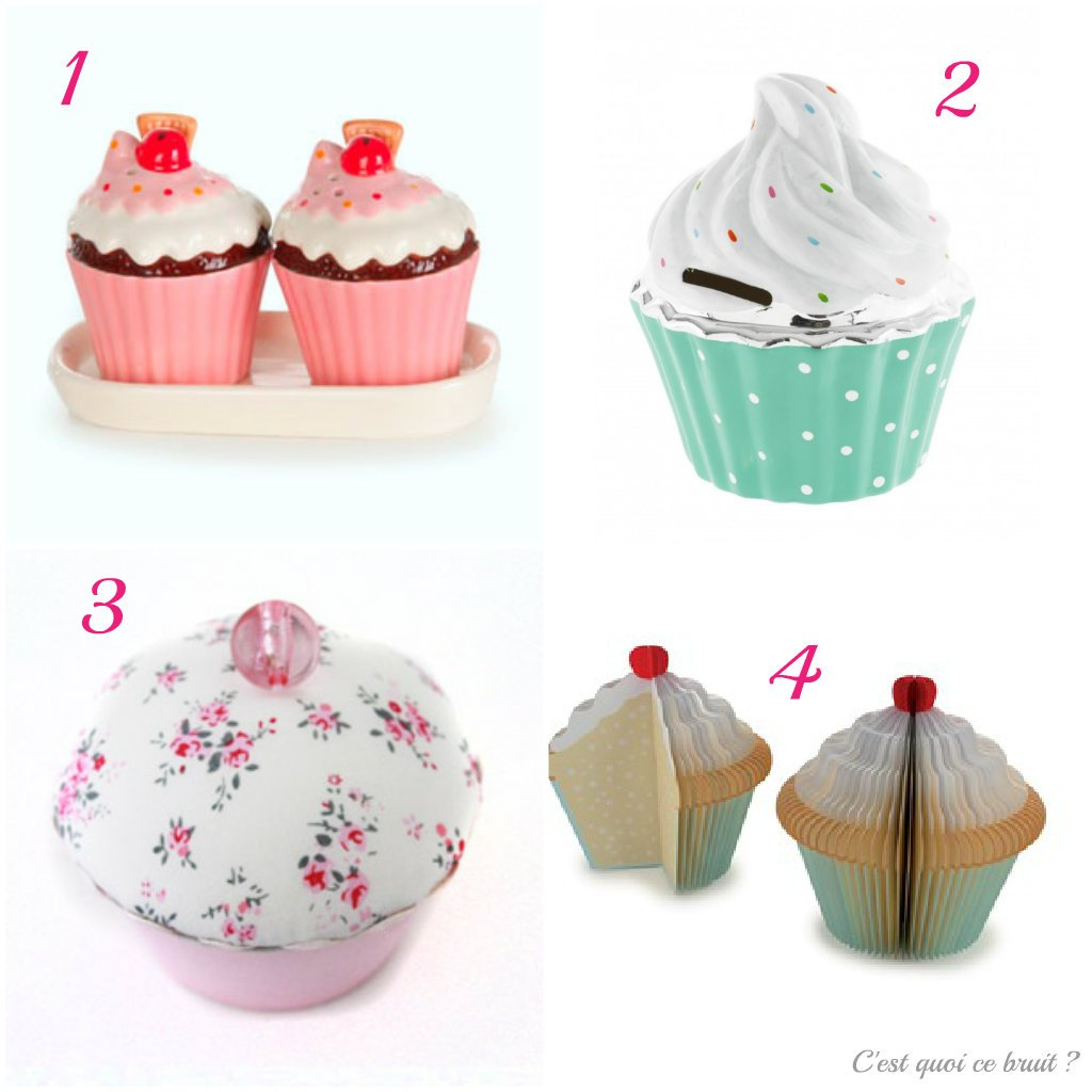 Deco cupcakes c 39 est quoi ce bruit - Deco pour cupcake ...