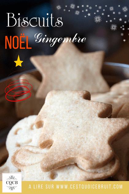 Biscuits de Noël au gimgembre