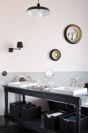 tendances pour une salle de bain chic. Black Bedroom Furniture Sets. Home Design Ideas