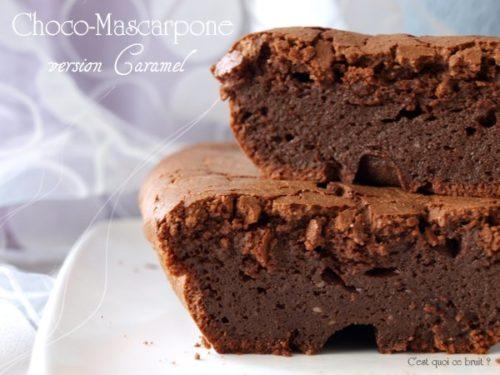 Choco mascarpone au caramel