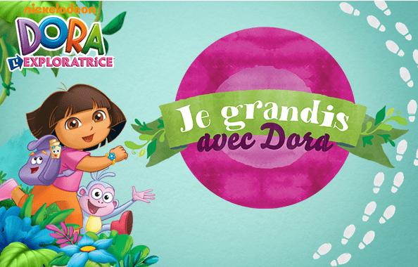 Je grandis avec Dora - NICKELODEON JUNIOR