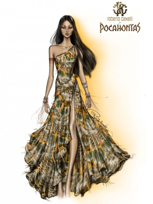Pocahontas-en-Roberto-Cavalli