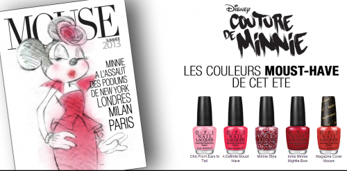 OPI-FRANCE   Minnie Couture Collection