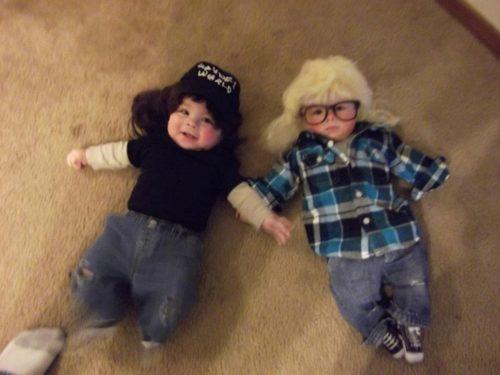 Déguisements amusants pour Halloween : Wayne's world