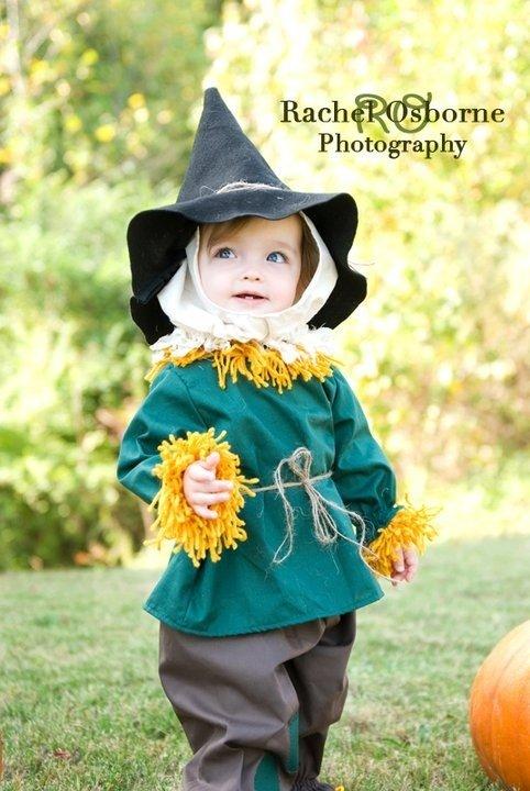 Meilleurs déguisements d'enfants d'Halloween : épouvantail
