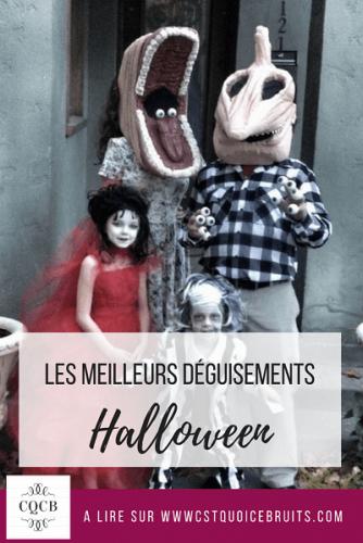 Les meilleurs déguisements d'Halloween.