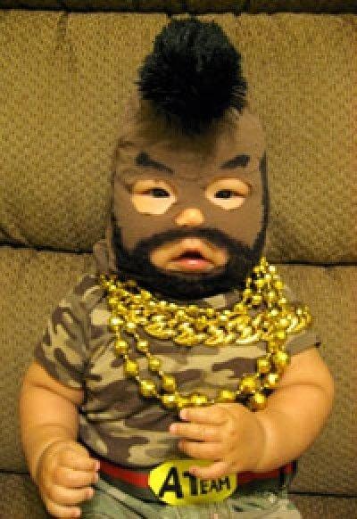 Déguisements amusants pour Halloween : Mister T