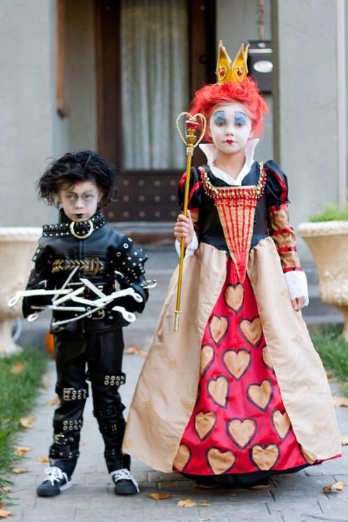 Meilleurs déguisements d'enfants d'Halloween : Inspiration Tim Burton