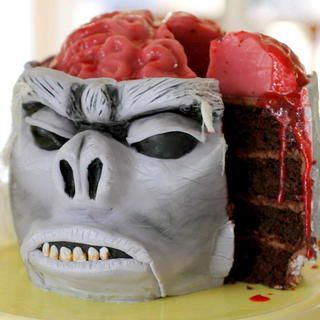 Recette Halloween gâteau qui fait peur Recette Halloween gâteau qui fait  peur