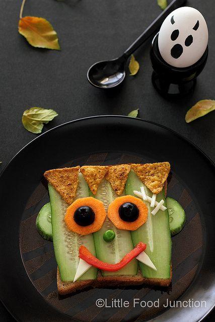 Recette de légumes amusante pour Halloween