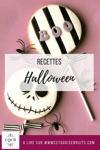 Recettes spécial Halloween à retrouver sur http://cestquoicebruit.com #halloween #recettes