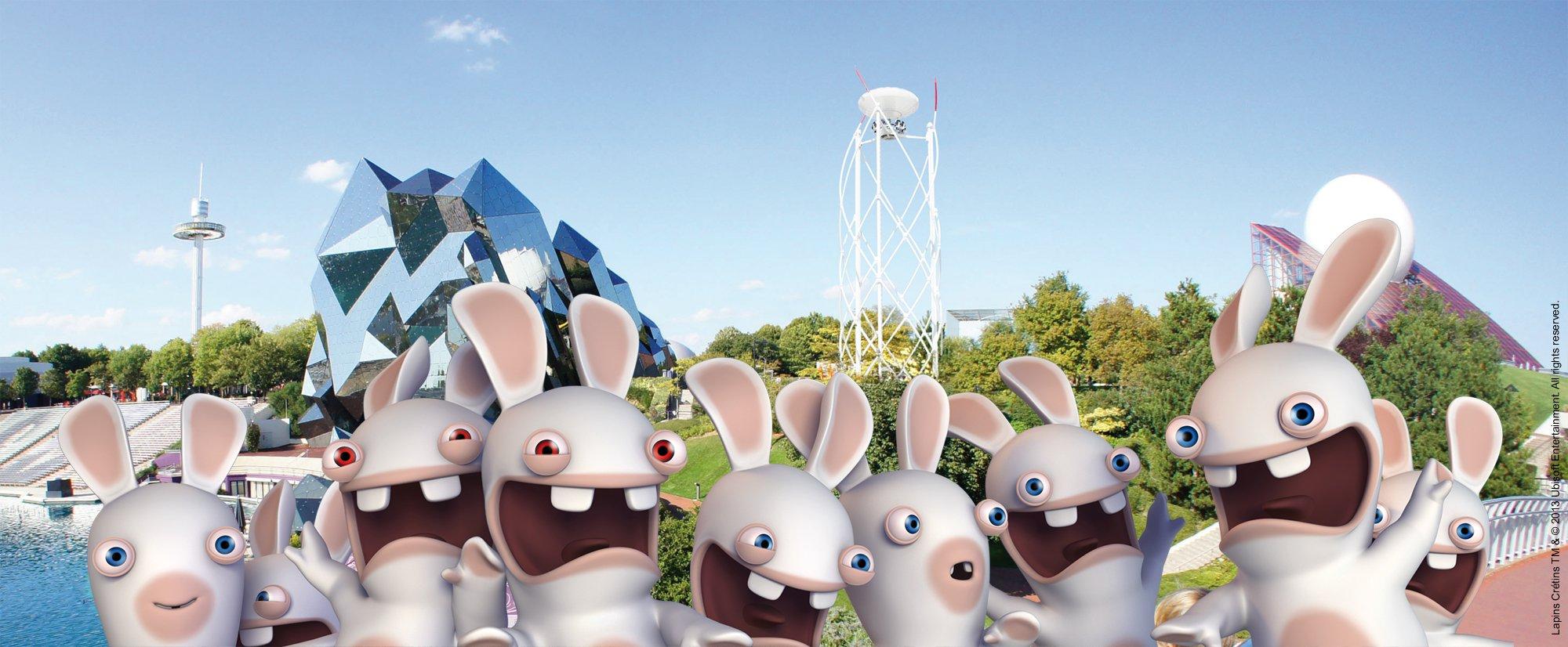 Les lapins cr tins d barquent futuroscope bon plan inside - Lapin cretin image ...