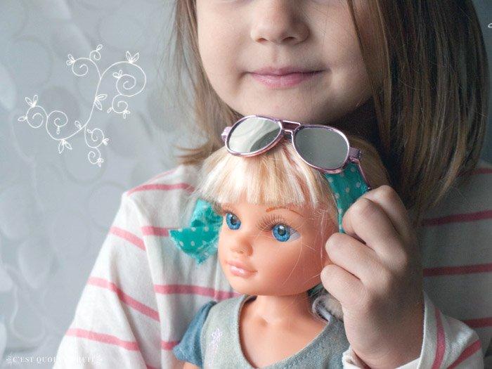 Jolie Nancy, Star des mers ! poupée Nancy famosa