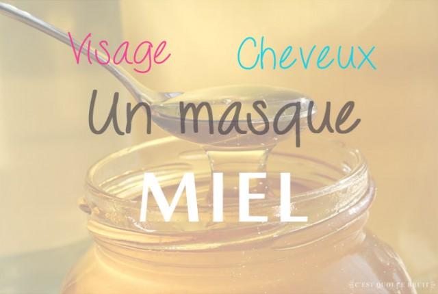 masque-miel