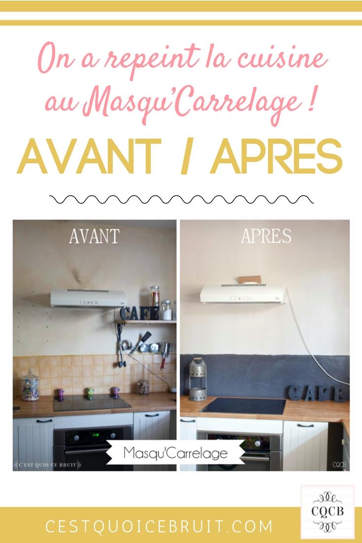 Avant après rénovation de la cuisine #cuisine #deco #décoration #rénovation #kitchen