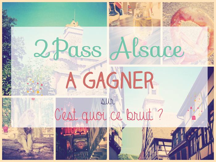 A la découverte de l'Alsace ! Pass Alsace