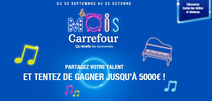 Carrefour deals réveille la rentrée