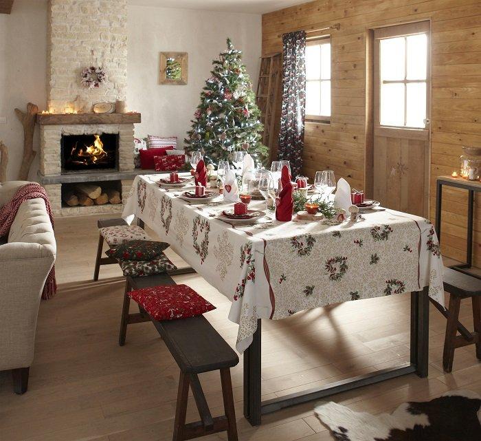 Mondial Tissus : Noël à l'anglaise