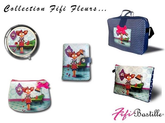 Nouvelle collection Fifi Bastille fleurs