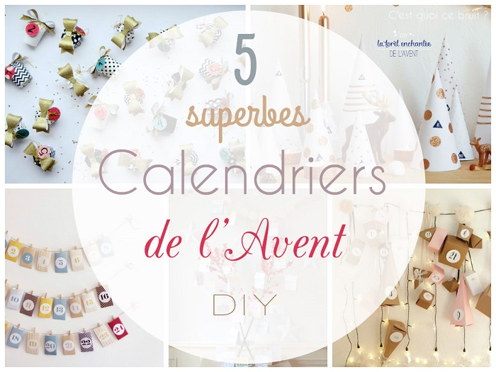 5 superbes calendriers de l 39 avent diy. Black Bedroom Furniture Sets. Home Design Ideas