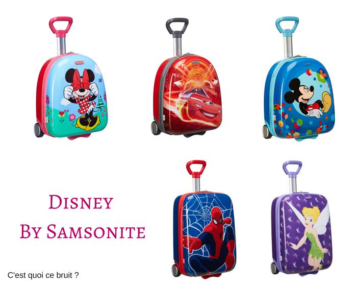 Celle qui partait en vacances à Disneyland avec sa valise Disney ! Disney by samsonite (valise Cosmolite)