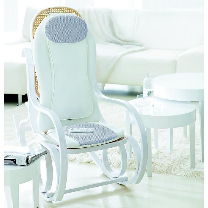 détente avec le fauteuil de massage Scholl