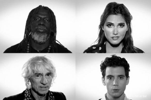 Des artistes contre Ebola