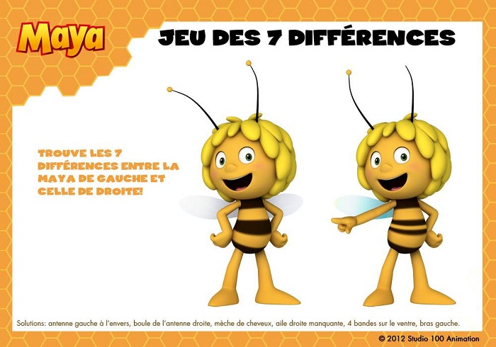 Maya-jeu-différences