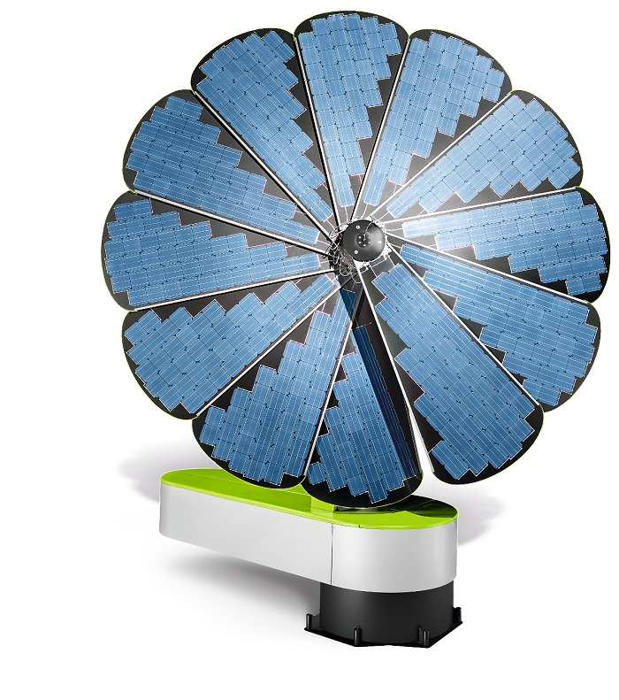 Smartflower-solaire