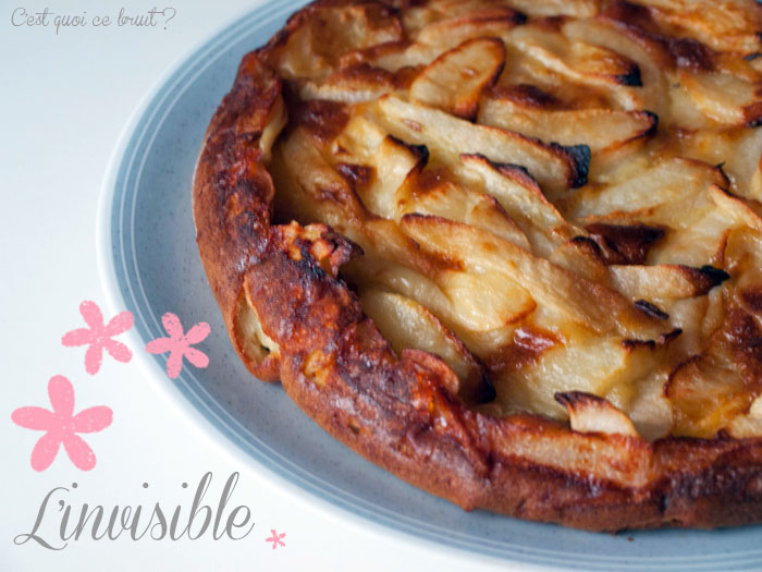 Le gâteau invisible pommes poires (weight watchers)