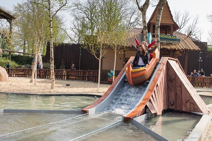 Le Parc Astérix en 2015 - Hydrolix