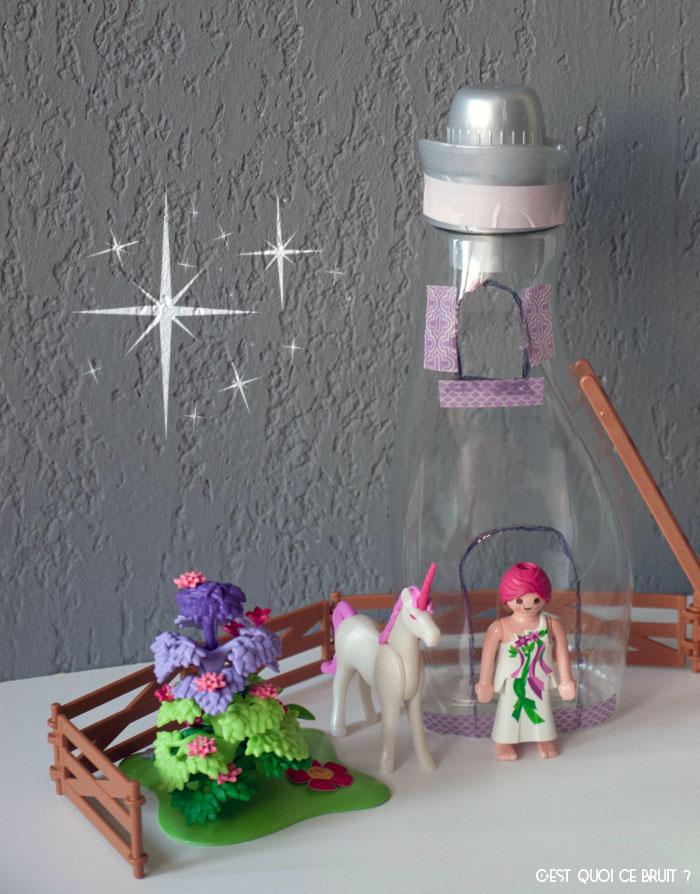 Diy faire une maison de poup es avec une bouteille for Adoucissant maison