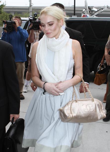 Maquillage raté des stars Lindsay Lohan