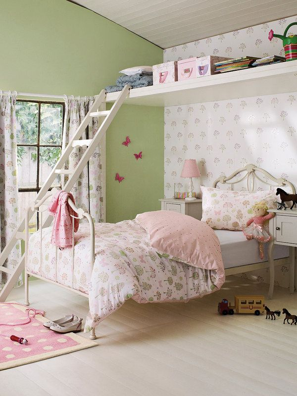 les jolies chambres de petites filles. Black Bedroom Furniture Sets. Home Design Ideas