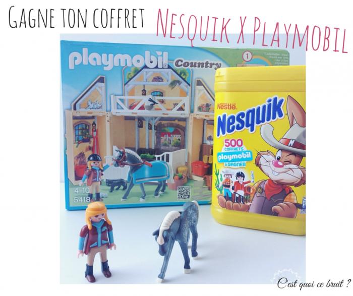 Concours Nesquik X Playmobil