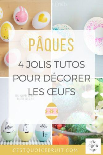 Décorer les œufs de Pâques #paques #activités #kids #famille