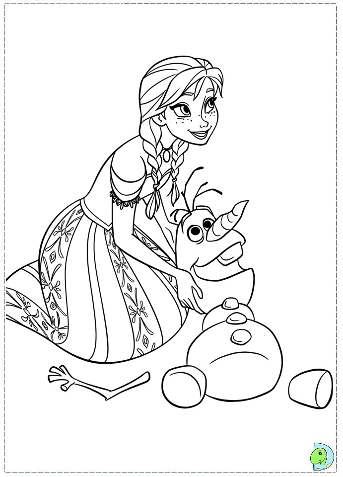 coloriages la reine des neiges imprimer