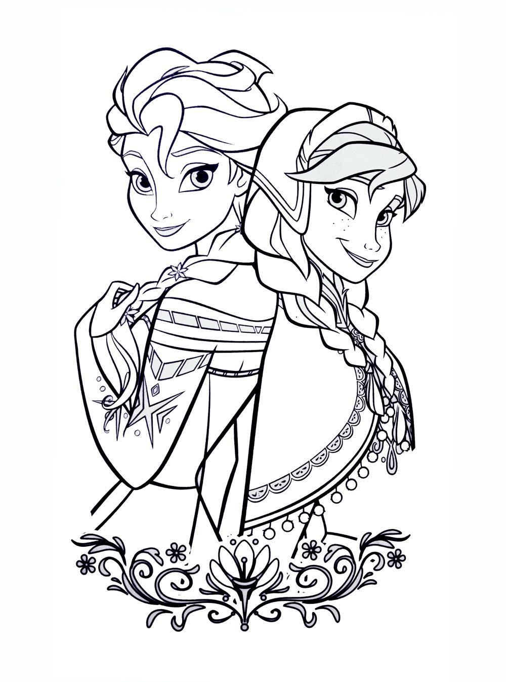 coloriages la reine des neiges a imprimer