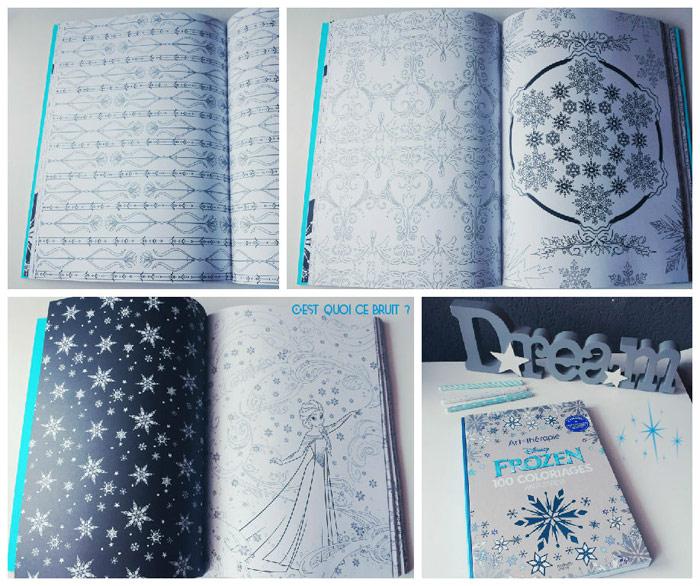 Coloriages zen Frozen art thérapie Disney