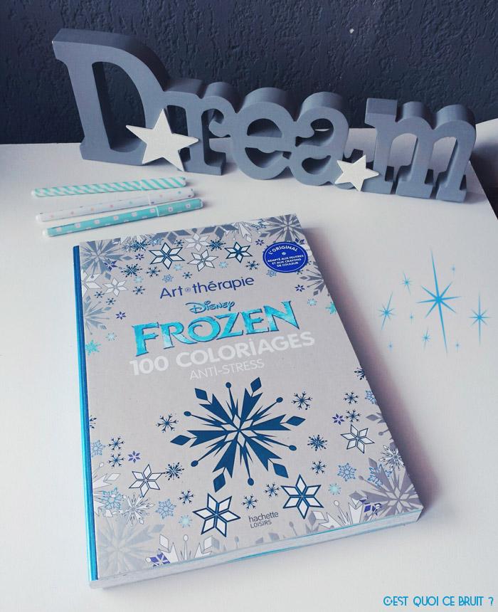 Coloriages zen Frozen Disney art thérapie