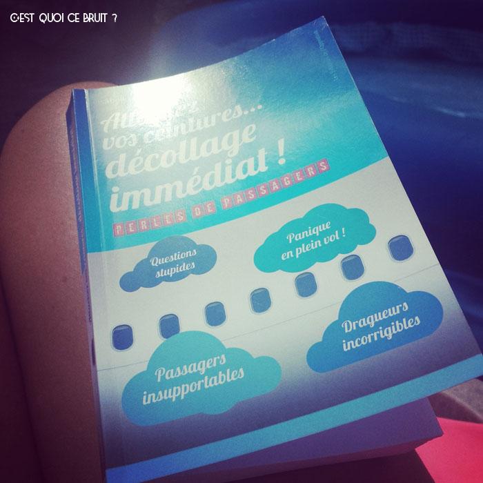 Attachez vos ceintures, décollage imminent, le livre d'Isabelle Tronquet alias Flying Mama