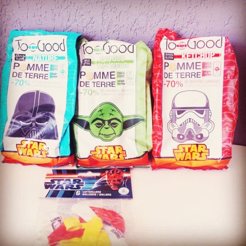 Star wars day : chips Too Good kids