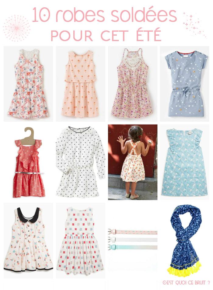 10 robes soldées pour les filles (soldes 2015)